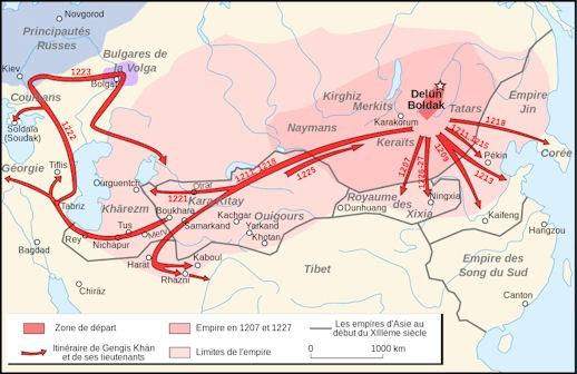 Image result for khwarizm invasion mongols