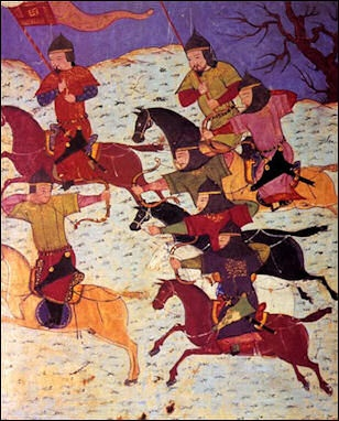 mongol army tactics weapons revenge and terror facts and details