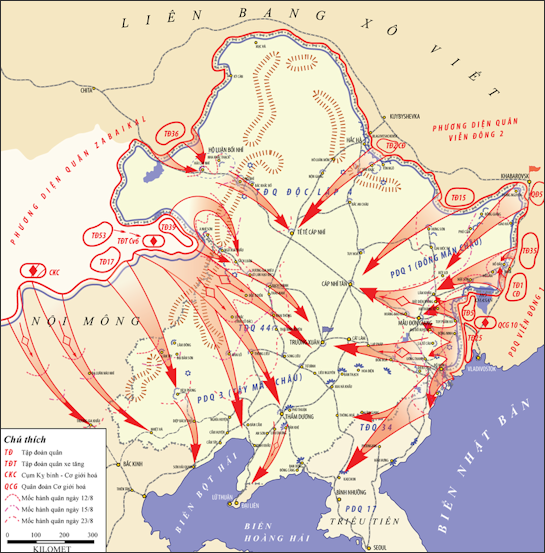 China and world war ii facts and details manchuria soviet offensive gumiabroncs Image collections