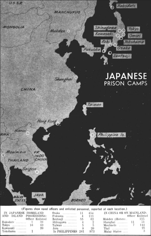BRUTAL TREATMENT OF POWS BY THE JAPANESE AND ATROCITIES BY US