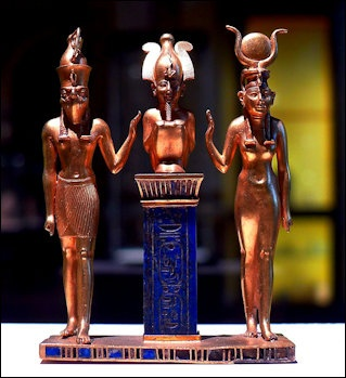 HORUS, ISIS, OSIRIS AND SETH — IMPORTANT EGYPTIAN GODS — AND