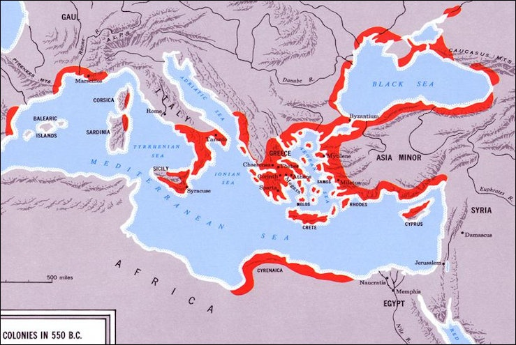 Powerful city states and the ancient greek classical age for Italy b b