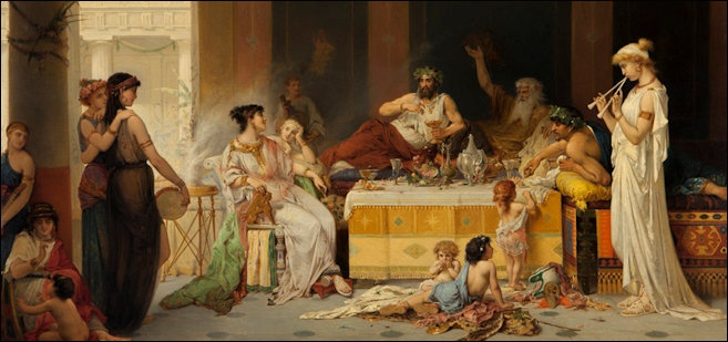 Rich People And Nobility In Ancient Rome Facts And Details