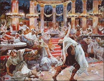 Banqueting In Ancient Rome Facts And Details