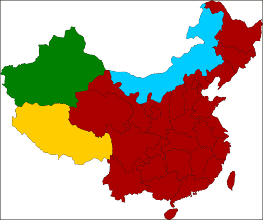 RELIGION IN CHINA Facts And Details - Three biggest religions