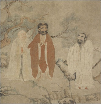 Brief history and evolution of religion in china facts and details the buddha lao tzu and confucius fandeluxe Images