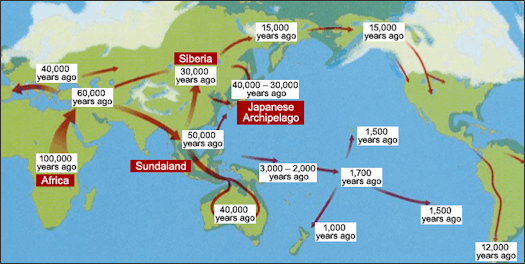 FIRST JAPANESE AND THEIR GENETIC HERITAGE Facts and Details