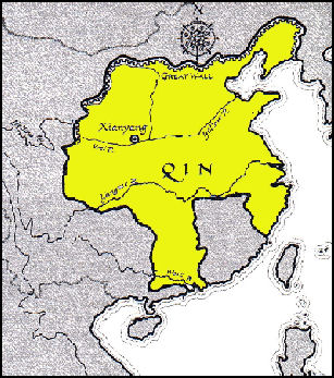 QIN DYNASTY (221-206 B.C.) AND THE RISE AND FALL OF THE QIN STATE ...