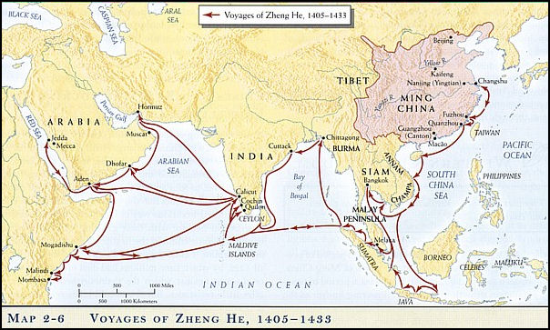 zheng he accomplishments