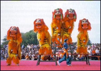Chinese Dance Facts And Details