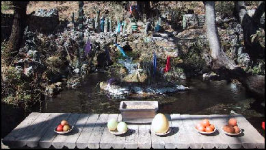 20080306-Naxi sacred palce and offerings.jpg