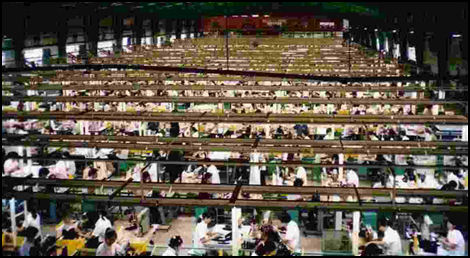 the horrible conditions of sweatshops in china cambodia and thailand Sweatshop slavery has been around since the but from thailand, cambodia these workers were subjected to horrible working conditions such as unsanitary.