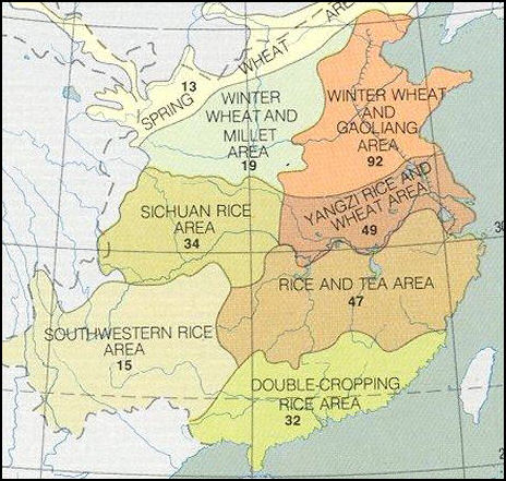 ancient china cultivation of land The aztecs were some of the most innovative farmers of the ancient world, and  farming provided the entire basis of their economy the land.