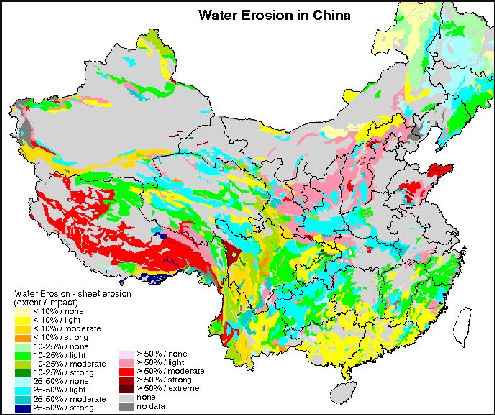 DEFORESTATION AND DESERTIFICATION IN CHINA | Facts and Details