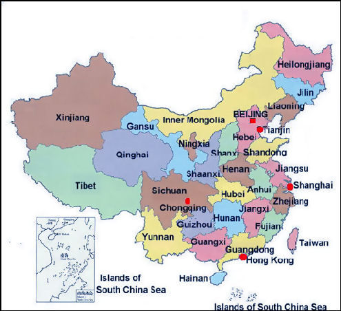 China basics facts and details null chinas provinces gumiabroncs Images