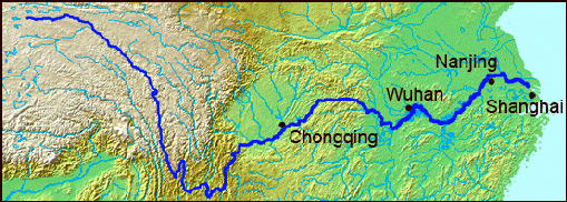 Yangtze river facts and details route of yangtze river publicscrutiny Image collections