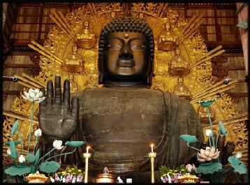 بودا در نارا ژاپن nara buddha
