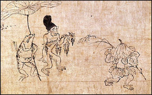 JAPANESE PAINTING:: SCROLLS, EMAKI, PARTITION PAINTING