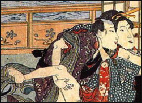 Sexuality in japanese art