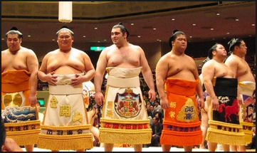 SUMO WRESTLERS AND SUMO LIFESTYLE