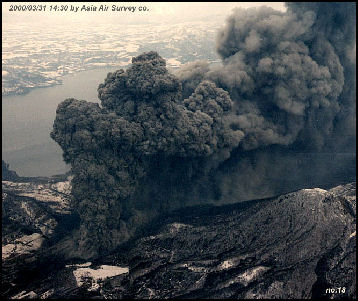 Major Volcanoes And Eruptions In Japan Facts And Details
