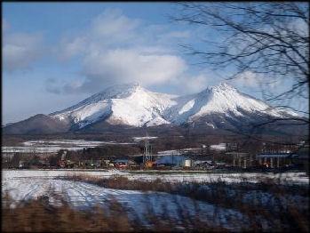 Mountain range in Hokkaido - Picture of Sapporo, Hokkaido ...