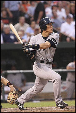 b116f35ec Hideki Matsui is another Japanese player who has a great impact on the U.S.  Major Leagues. Known as Godzilla