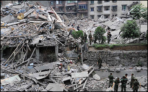 SICHUAN EARTHQUAKE IN 2008: GEOLOGY, DAMAGE  AND POSSIBLE