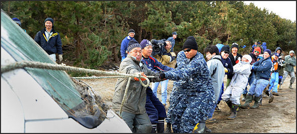20110413-US Navy survivors Misawa.jpg