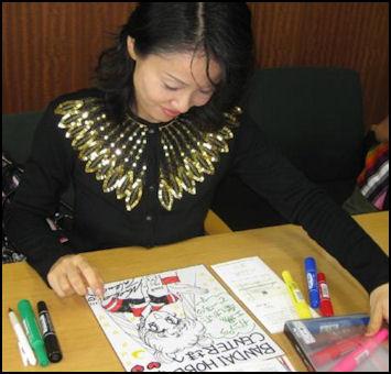 20111107-Wiki C Mangaka Sailor Moon creator Naoko Takeuchi.JPG