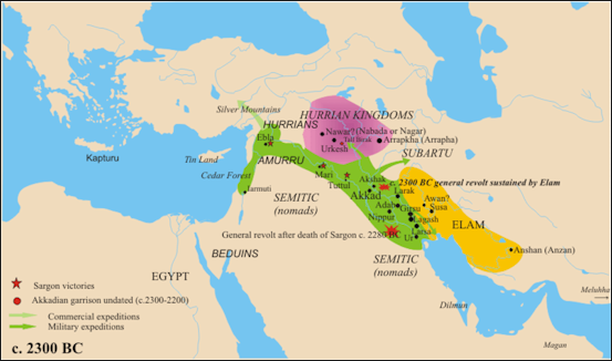 MESOPOTAMIA NEAR EAST AND THE FERTILE CRESCENT Facts And Details - Map of egypt 2000 bc