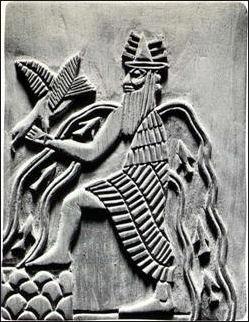 The god Enki