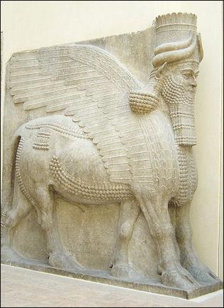assyrian art characteristics