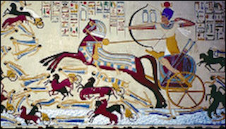 Horsemen and the first chariots and mounted riders facts and details