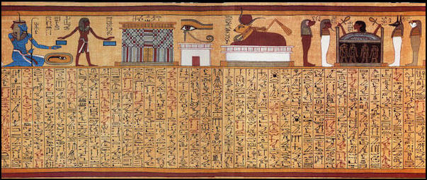 egyptian book of the dead symbols