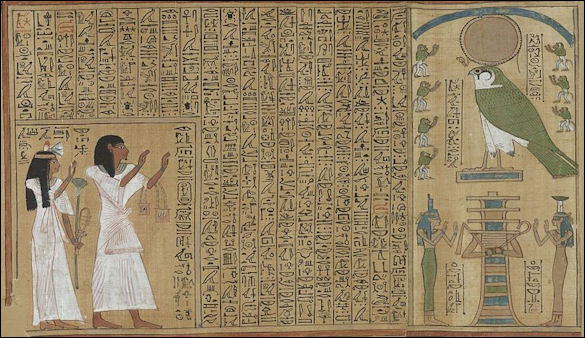 book of the dead in egyptian