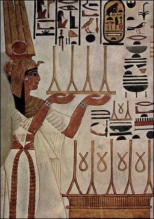 Ancient egyptian funerals tombs and tomb art facts and for Ancient egyptian tomb decoration