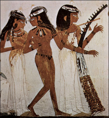 Dancers Ancient egyptian