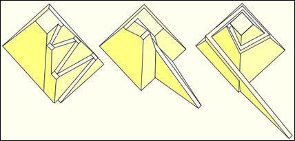 Image result for Hatnub pyramid ramp