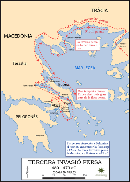 Ancient greecethe persian wars and herodotus facts and details 20120218 persianinvasion cag gumiabroncs Choice Image