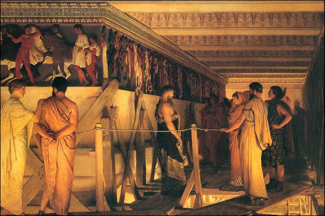 20120221-Lawrence_Alma-Tadema_-_Phidias_Showing_the_Frieze_of_the_Parthenon_to_his_Friends.jpg