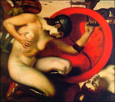 Nude women as greek gods — 1