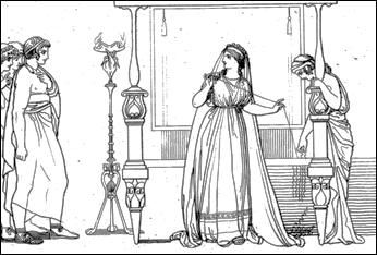 The Odyssey Odysseus And Penelope Penelope suitors during the 20Odyssey Penelopes Test