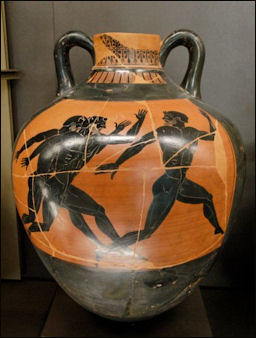 ANCIENT GREEK OLYMPICS: THEIR HISTORY, ATMOSPHERE AND