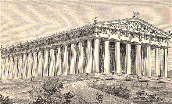 Greek Architecture Drawing ancient greek architecture and the greek seven wonders | facts and