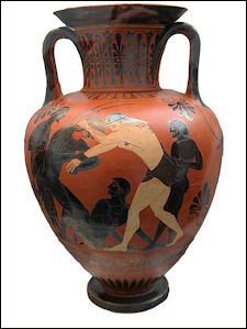 ancient greek art painting and crafts facts and details