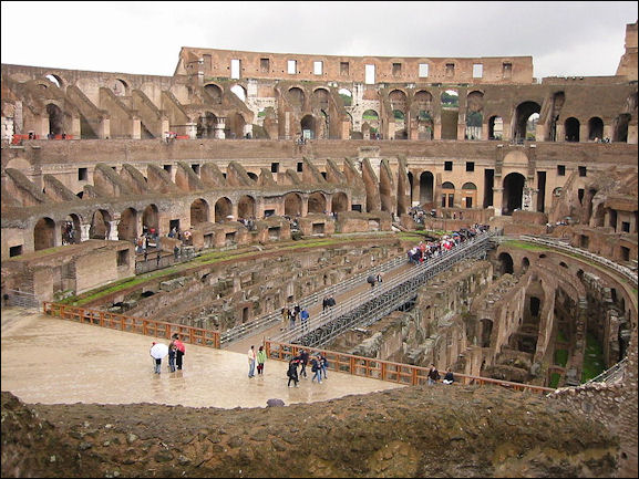 Roman Colosseum And The Spectacles Held There Facts And