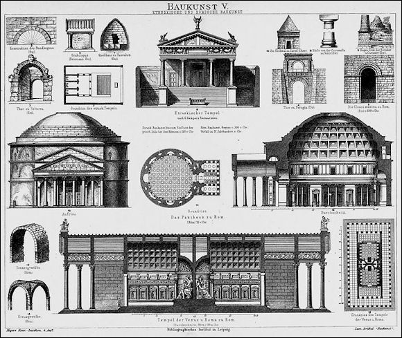 pantheon structure