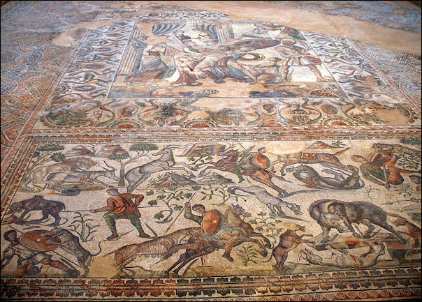 Ancient Roman Mosaics Facts And Details