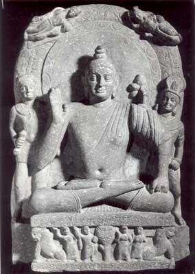 later statues of buddha emphasized